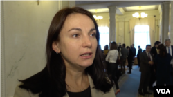 Ганна Гопко, голова парламентського комітету із закордонних справ