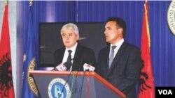 Ali Ahmeti & Zoran Zaev