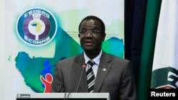 서아프리카 공동체 카드레 데시레 외드라오고 의장. (자료사진)