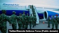 Bamwe mu basirikare b'u Rwanda batwarwa muri UNMISS