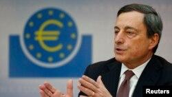Mario Draghi, President of the European Central Bank (ECB), March 7, 2013