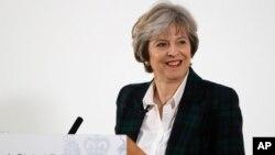 ၿဗိတိန္ဝန္ႀကီးခ်ဳပ္ Theresa May