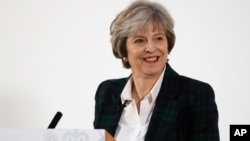 Perdana Menteri Inggris, Theresa May (foto: dok).