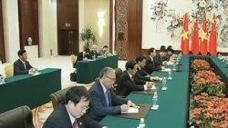 Việt-Trung cam kết giải quyết tranh chấp Biển Đông bằng đối thoại