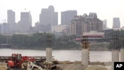 Ohio skyline construction
