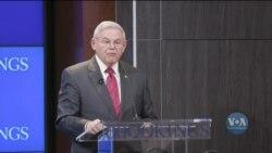 Роберт Менендез закликав до посилення підтримки України. Відео