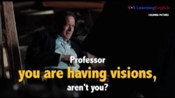 Học tiếng Anh qua phim ảnh: You are having visions - Phim Inferno (VOA)
