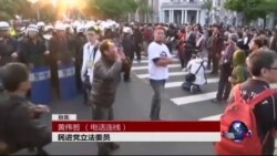 VOA连线:台湾反服贸抗议的冲击与反思