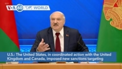 VOA60 Addunyaa - The United States imposes new sanctions on Belarus