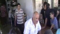 Редици за леб во Газа