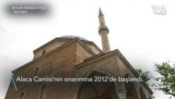 Bosna Hersek'teki Tarihi Osmanlı Camisi 24 Yıl Sonra İbadete Açıldı