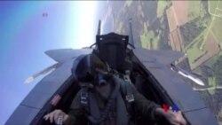 俄戰機在波羅的海上空逼近美軍飛機(粵語)