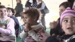 منداڵانی سوریا له کهمپی ئاوارهکانی زهعتهری ئوردن