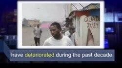 Học từ vựng qua bản tin ngắn: Deteriorate (VOA)
