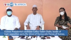 Guinea opposition candidate Cellou Dalein Diallo says supporters of President Alpha Condé blocked him from entering Kankan