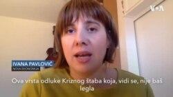Novinarka portala Nova ekonomija Ivana Pavlović o odluci Kriznog štaba da popusti mere
