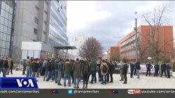 Protestë me thirrje për ratifikimin e marrëveshjes me Malin e Zi