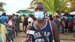 Miles de migrantes represados en la frontera colombo panameña