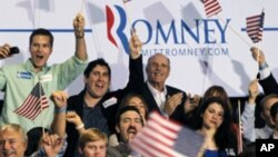 Mitt Romney Yahoze Atwara Intara ya Massachusetts, Yaraye Atsinze Bagenzi Biwe b'Abarepublika, mu Ntara ya Florida