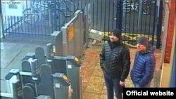 Підозрювані на станції Солсбері 3.03.18. Фото оприлюднене поліцією