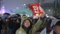 朴槿惠弹劾案定论在即 韩国因萨德愈加分裂