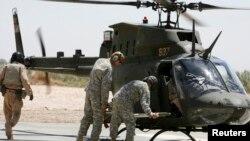 미군이 운영하고 있는 OH-58D 전투헬기. (자료사진)