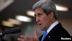 Menlu AS, John Kerry terus mendorong perundingan damai Suriah di Jenewa bulan depan (foto: dok).
