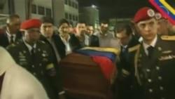 委内瑞拉民众悼念查韦斯