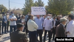 تجمع معلمان و بازنشستگان زنجان