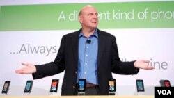 Steve Ballmer, saat masih menjadi CEO di Microsoft (foto: dok).
