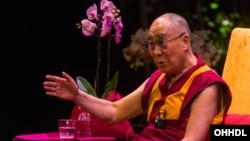 Nhà lãnh đạo tinh thần của người Tây Tạng, Đức Đạt Lai Lạt Ma.