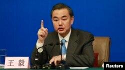 왕이 중국 외교부장 (자료사진)
