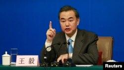 Bộ trưởng Ngoại giao Trung Quốc Vương Nghị.