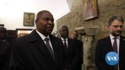 Le président centrafricain rencontre le pape et renouvelle son engagement à l'accord de paix de Khartoum