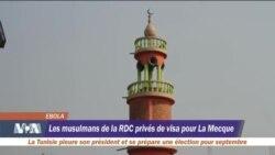 Les mulsumans de la RDC privés de visa pour La Mecque