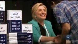 """Гілларі Клінтон написала """"Що трапилось"""" на виборах 2017 у новій книжці. Відео"""