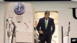 15일 인도네시아에 도착하는 존 케리 미국 국무장관
