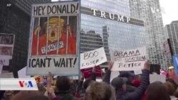 Li New Yorkê Xwepêşandana Dijî Serok Trump