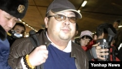 FOLE - Kim Jong Nam is pictured at the Beijing International Airport, China, Feb. 2007. He was killed on Feb. 13, 2017 at Kuala Lumpur International Airport.
