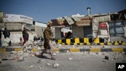Около президентского комплекса в столице Йемена Сане