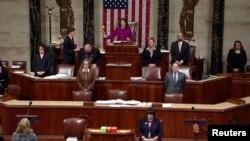 Открытие заседания по импичменту в Палате представителей