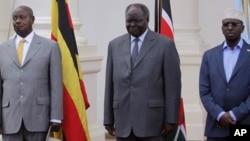 Saddex Madaxweyne oo Nairobi ku Kulmay
