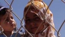 کودکان سوری در اردوگاه های کشورهای همسايه