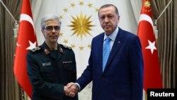 لوی درستیز ایران روز چهارشنبه با رئیس جمهور ترکیه ملاقات کرد.
