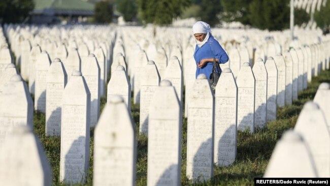 Memorijalni centar Potočari nadomak Srebrenice