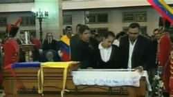 委內瑞拉民眾悼念查韋斯