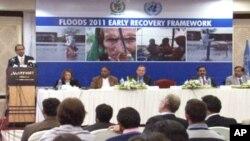 سیلاب زدگان کی بحالی کے منصوبوں کے لیے 44 کروڑ ڈالر کی اپیل