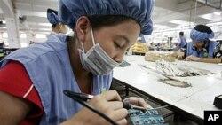 中國勞動力出現變化。