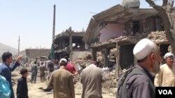 حمله انتحاری روز جمعه در شاه شهید کابل