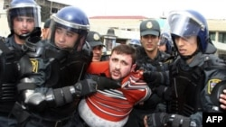 Аресты оппозиционеров в Баку. Апрель 2011г.